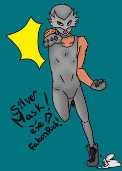 Silver Mask (Request Thedeadstroke ) by Dream-Yaoi