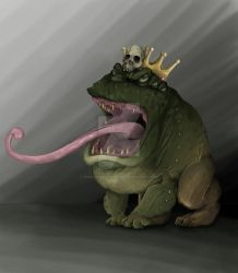 Toad-King by GianlucaSorrentino