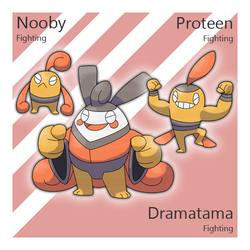 Nooby, Proteen, and Dramatama by Tsunfished