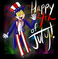 Happy Fourth Of July by pandabearbam