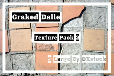Cracked Dalle_Texture_Pack 2 by DXstock