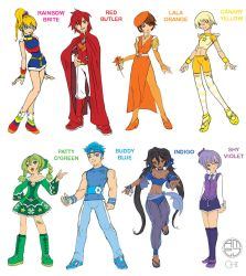 Rainbow Brite and Color Kids by cwmodels