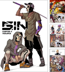 SIN Chapter 4: Violence by Quirkilicious