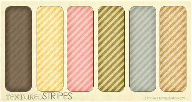 Textured Stripes- 6 patterns by aeiryn