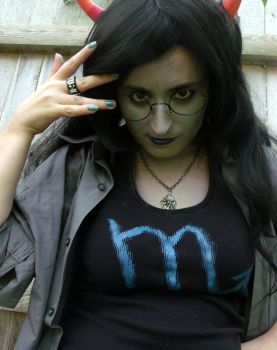 Vriska Cosplay test by IenzoVantas