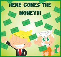 Here Comes the Money! by Febriananda