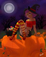 Happy Belated Halloween by Divina-H-ART