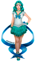[AT] Sailor Neptune by ROGUEKELSEY