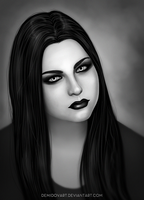 Amy Lee by DemidovArt