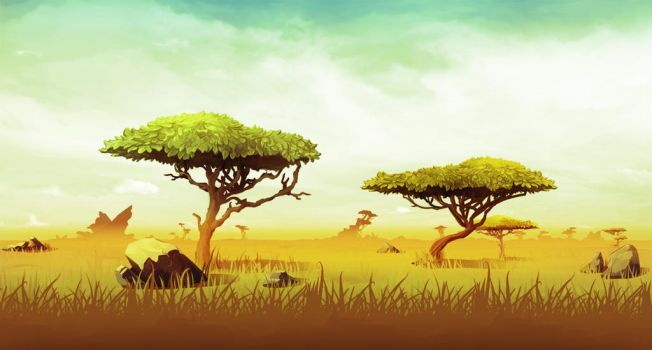 Relic Ball: African Savanna by ScottPellico