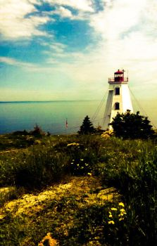 Light house, Grand Manan by Lilygirl0906