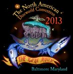 North American Discworld Convention Logo 2013 by raisegrate