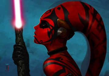 -- Darth Talon -- by yvanquinet