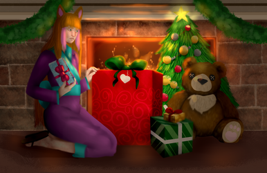 [YCH] Holiday ~ Keke by Qu-Ross