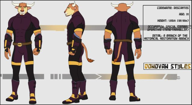 Donovan - Character Sheet by Gibbo18