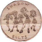 Shadowbolts Pyrography - gift for thewatcher by Malte279