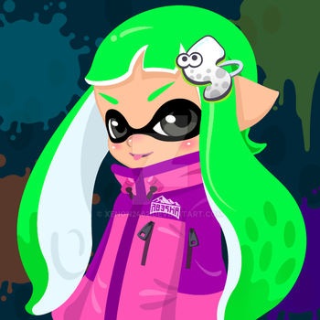 Becky the Inkling by Xenon2462