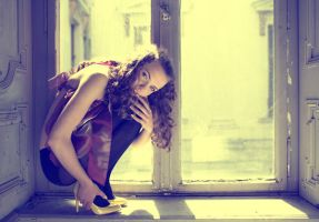 in the window by bagnino