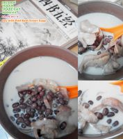 Soy Milk Red Bean Soup by Doll1988