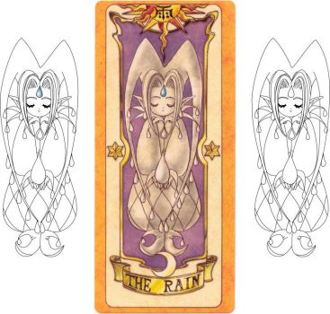 Vectorization - CLOW Rain by layg00