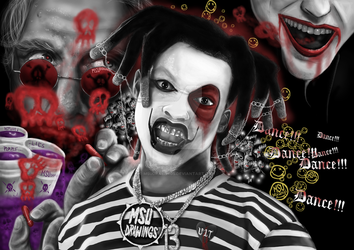 Denzel Curry by MSUdrawings by MSUdrawings