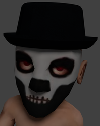 Voodoo Mask and Hat v1 by Nsuidara
