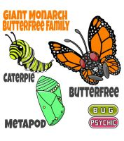 Butterfree Family