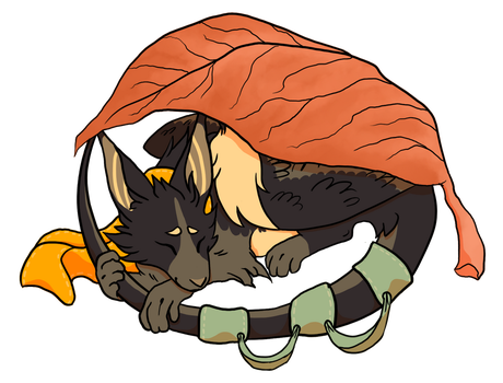 The Comfy Leaf by 0CAT