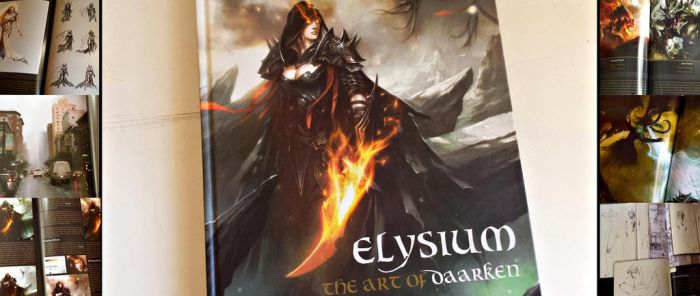 Art Book Review: Elysium The art of Daarken by CGCookie