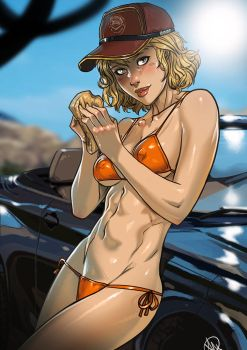 Cindy Aurum Carwash Service by Ganassa