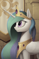 Celestia portrait by IvG89