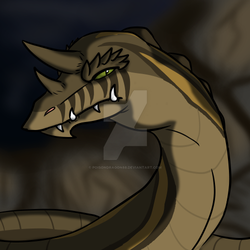 The cave-digging noodle by poisondragon88