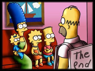 The Simpsons - The end by bennettua