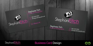 Stephanie Fitch Business Card by hellfire109