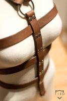 Leather harness by TiedStyle
