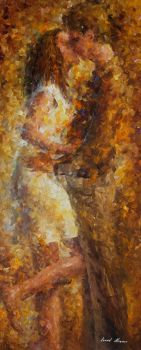 Last Kiss 2 by Leonid Afremov by Leonidafremov