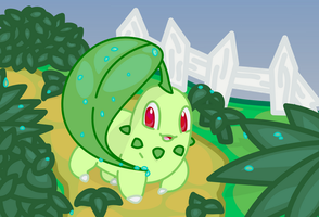 Chikorita by doubleosquirtle