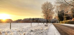 Warm snow by atol
