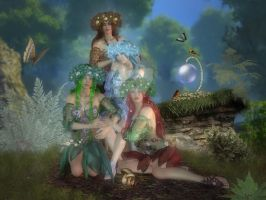 Mother Nature's Daughters by CaperGirl42