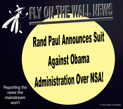 Rand Paul Files Suit Against Obama Over NSA! by IAmTheUnison