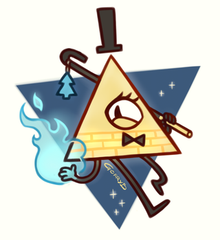 Bill Cipher by Gorryb