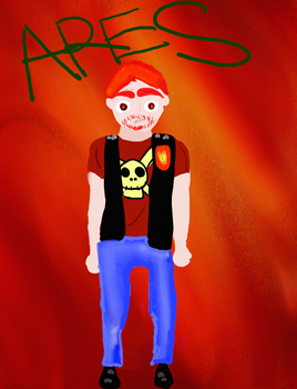 Ares in Human Form by ArtisticGoat123