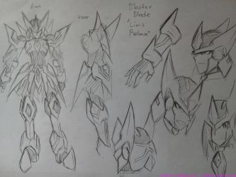 Blaster Blade Limit Release by rnds