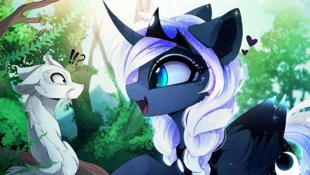 New pet (PART 1) by MagnaLuna