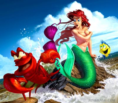 The Little Mermaid by JonathanGragg