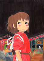 Chihiro by QuintessantRiver