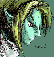 Link, but this time his colour by Wumzum