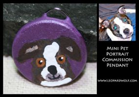 Pet Pendant Commish 1 for DD by leopardwolf