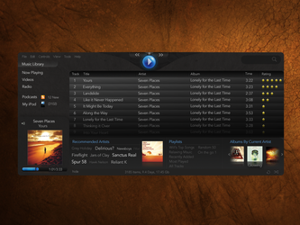 Linux Media Player Mockup by willwill100