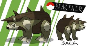 Mountain Bear Fakemon by TRspicy